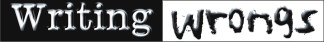 Writing Wrongs Logo banner