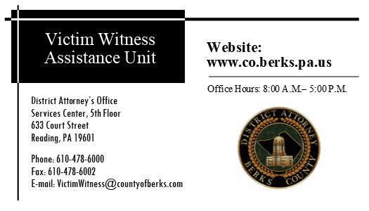 Victim Witness Assistance Unit