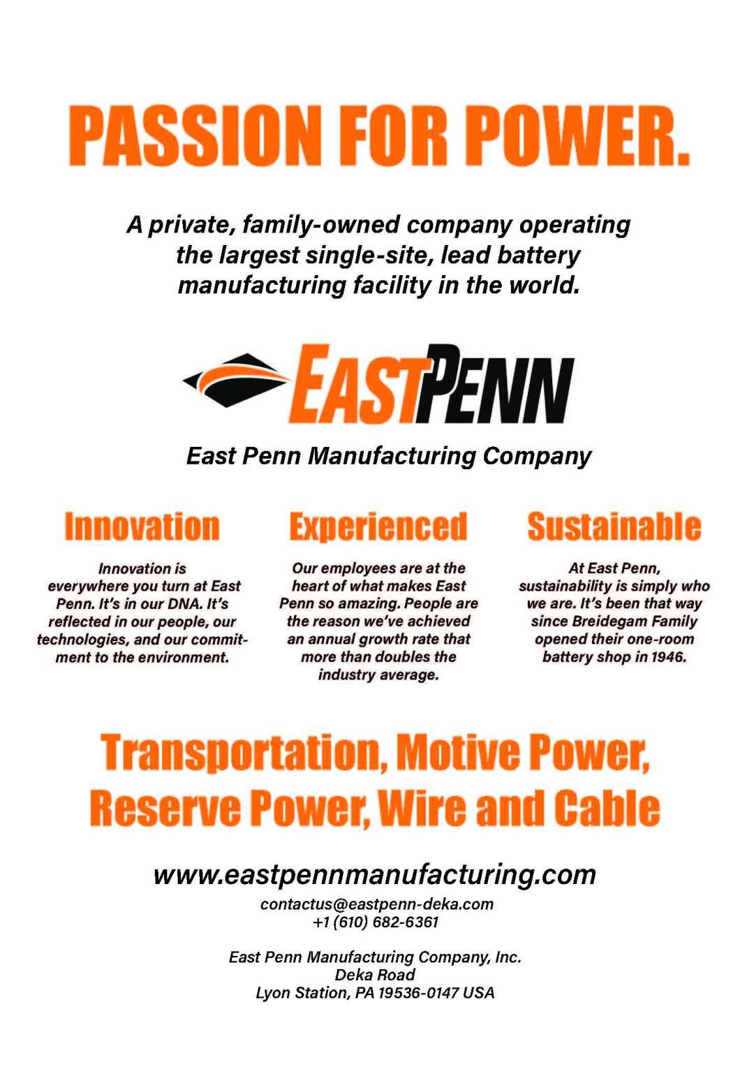 east penn adx